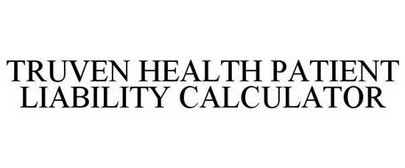TRUVEN HEALTH PATIENT LIABILITY CALCULATOR