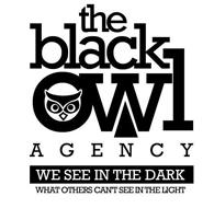 THE BLACK OWL AGENCY, WE SEE IN THE DARK WHAT OTHERS CAN'T SEE IN THE LIGHT