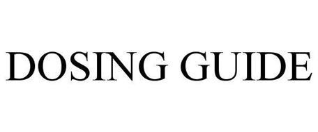 DOSING GUIDE
