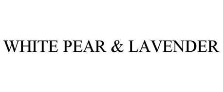WHITE PEAR & LAVENDER