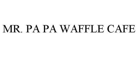 MR. PA PA WAFFLE CAFE