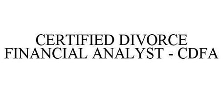 CERTIFIED DIVORCE FINANCIAL ANALYST - CDFA