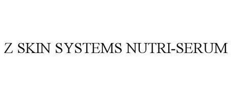 Z SKIN SYSTEMS NUTRI-SERUM