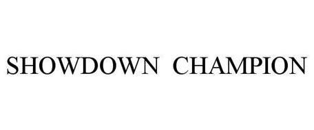 SHOWDOWN CHAMPION