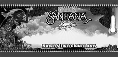 CARLOS SANTANA ORGANIC NATURE'S FINEST INGREDIENTS