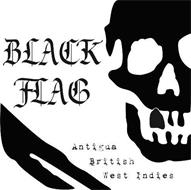 BLACK FLAG ANTIGUA BRITISH WEST INDIES