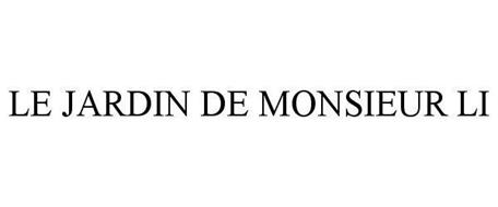 LE JARDIN DE MONSIEUR LI