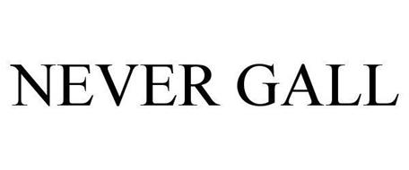 NEVER GALL
