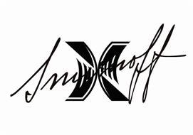 X SMIRNOFF