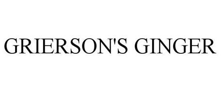 GRIERSON'S GINGER