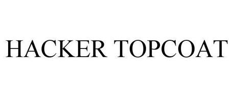 HACKER TOPCOAT