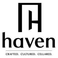 C, H, HAVEN, CRAFTED CULTURED CELLARED