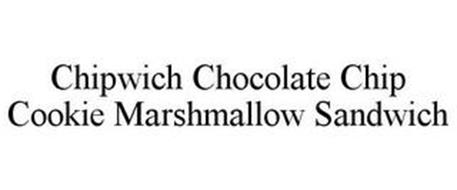 CHIPWICH CHOCOLATE CHIP COOKIE MARSHMALLOW SANDWICH