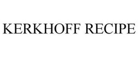 KERKHOFF RECIPE