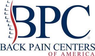 BPC BACK PAIN CENTERS OF AMERICA