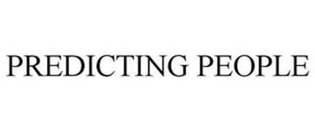 PREDICTING PEOPLE