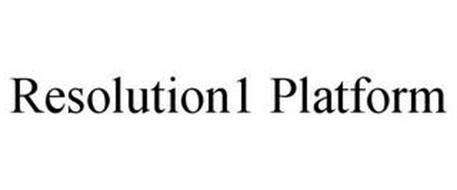RESOLUTION1 PLATFORM