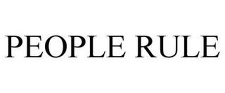 PEOPLE RULE