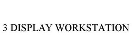 3 DISPLAY WORKSTATION