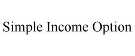 SIMPLE INCOME OPTION