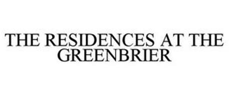 THE RESIDENCES AT THE GREENBRIER