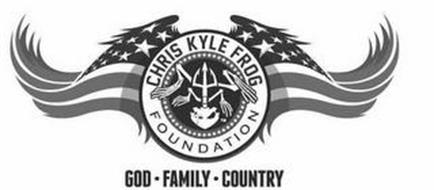 CHRIS KYLE FROG FOUNDATION GOD ­COUNTRY FAMILY