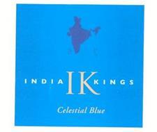 INDIA IK KINGS CELESTIAL BLUE