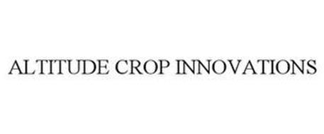 ALTITUDE CROP INNOVATIONS
