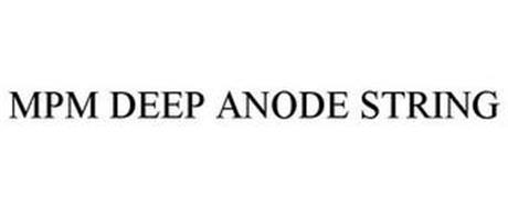 MPM DEEP ANODE STRING