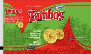 ZAMBOS SALVAJES DEL TROPICO ZAMBOS ZAMBOS YUMMIES