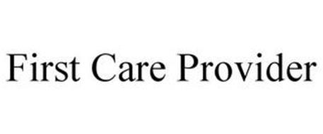 FIRST CARE PROVIDER