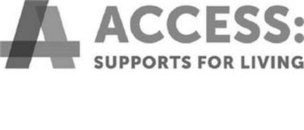 A ACCESS: SUPPORTS FOR LIVING