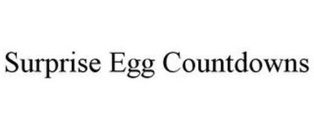 SURPRISE EGG COUNTDOWNS