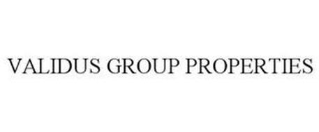 VALIDUS GROUP PROPERTIES