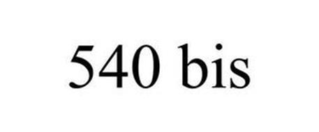 540 BIS