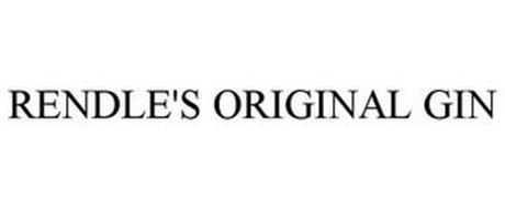 RENDLE'S ORIGINAL GIN