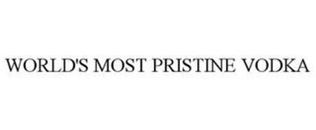 WORLD'S MOST PRISTINE VODKA