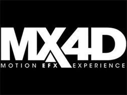 MX4D MOTION EFX EXPERIENCE