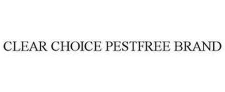 CLEAR CHOICE PESTFREE BRAND