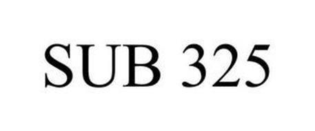 SUB 325
