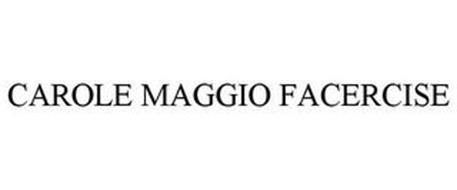 CAROLE MAGGIO FACERCISE