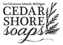 LES CHENEAUX ISLAND, MICHIGAN CEDAR SHORE SOAPS