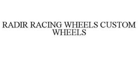 RADIR RACING WHEELS CUSTOM WHEELS
