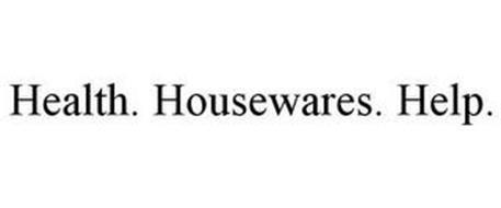 HEALTH. HOUSEWARES. HELP.