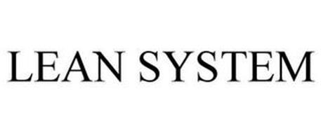 LEAN SYSTEM