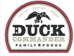 FAITH  FAMILY  FOODS AND DUCK COMMADNER FAMILY FOODS
