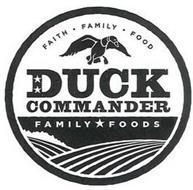 FAITH  FAMILY  FOOD AND DUCK COMMANDER FAMILY FOODS