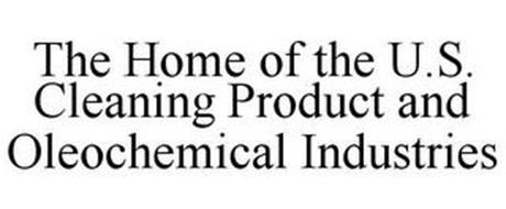 THE HOME OF THE U.S. CLEANING PRODUCT AND OLEOCHEMICAL INDUSTRIES