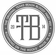 THE ORIGINAL TEXAS BEACH BLOODY MARY MIX RICHMOND ON THE ROCKS MADE IN VA 20 TB 14