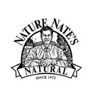 NATURE NATE'S NATURAL SINCE 1972